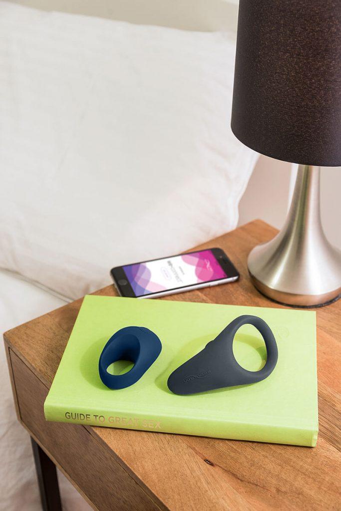 Vibrator met app - Cockrings Verge & Pivot van We-Vibe