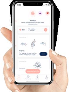Cockring vibrator met app - Lovely