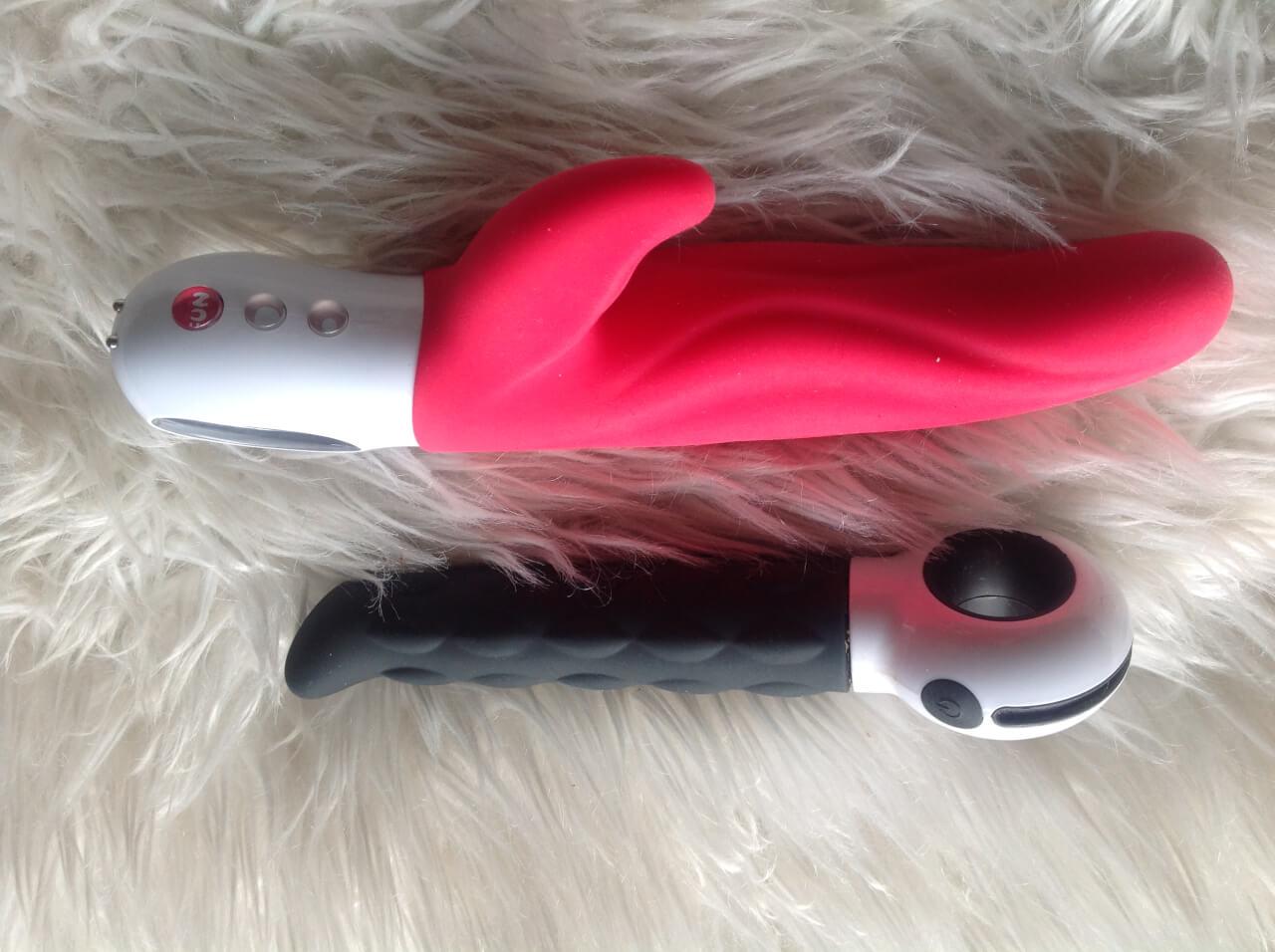 Roze Lady Bi vibrator van Funfactory en de Delight