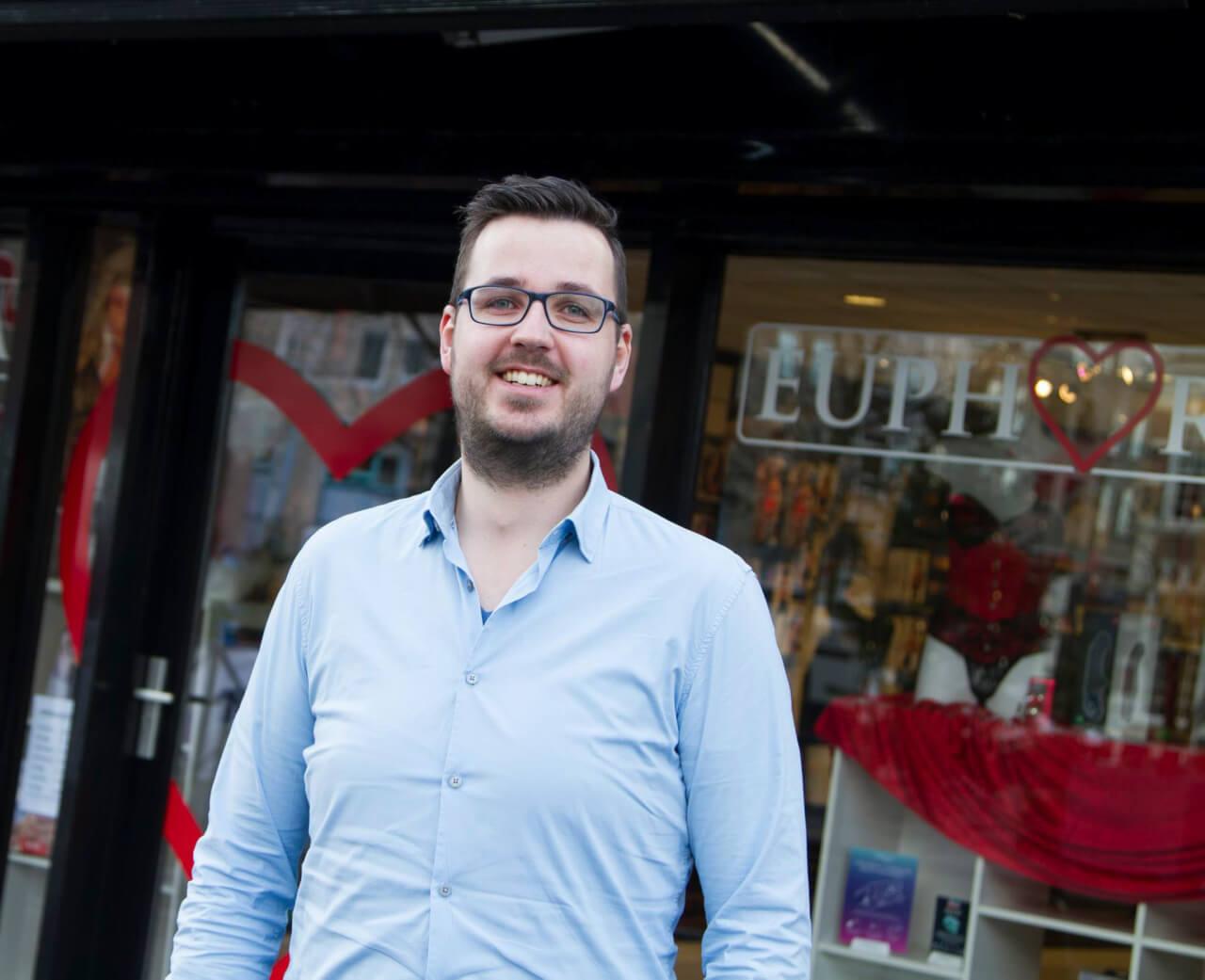 Ondernemer Mark Muller van Euphoria Erotiek Heerenveen Leeuwarden