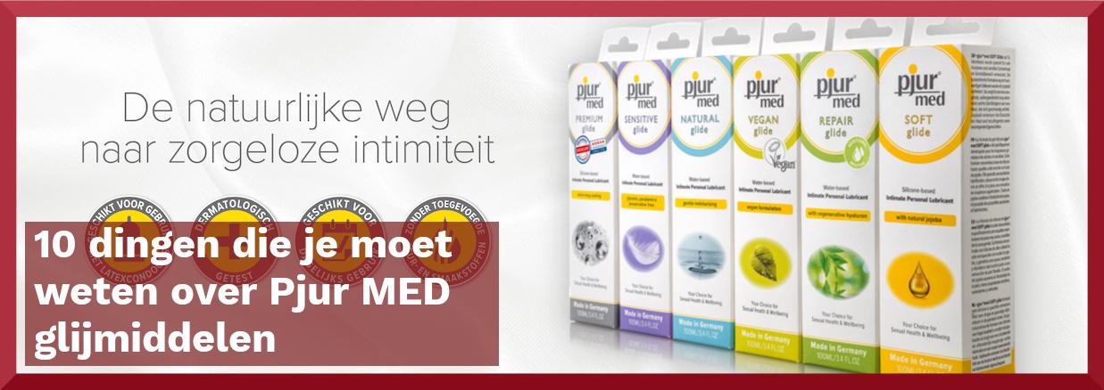 10 dingen die je moet weten over Pjur MED glijmiddelen