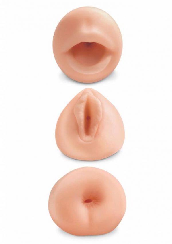 3-delige masturbatorset - All 3 Holes
