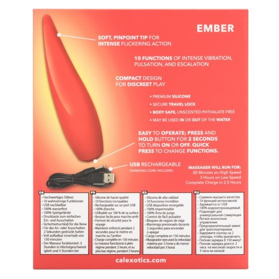 Ember by Red Hot - Vibrerend puntje
