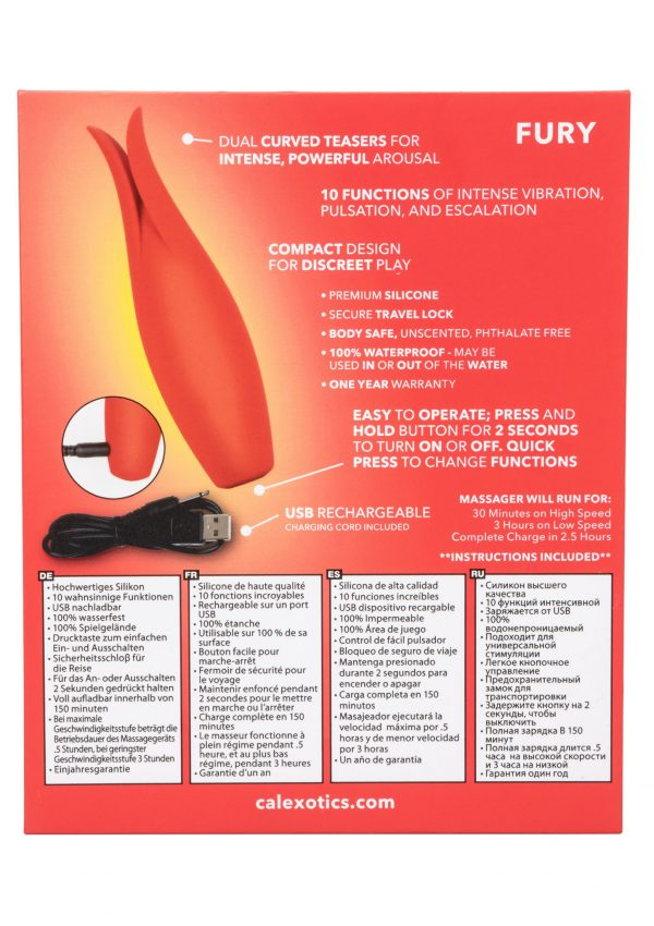 Fury by Red Hot - Fijne vibrator
