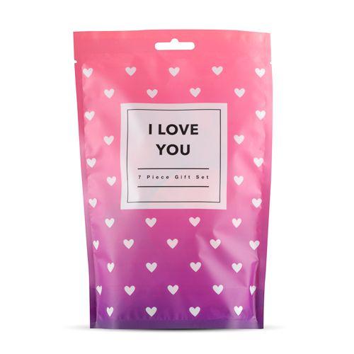 I Love You - 7-delige giftset