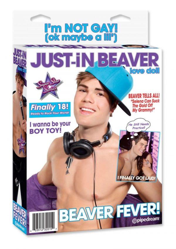 Just In Beaver Love Doll - Opblaaspop