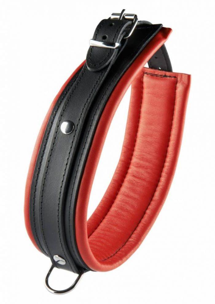 Leren Collar / Halsband 5 cm