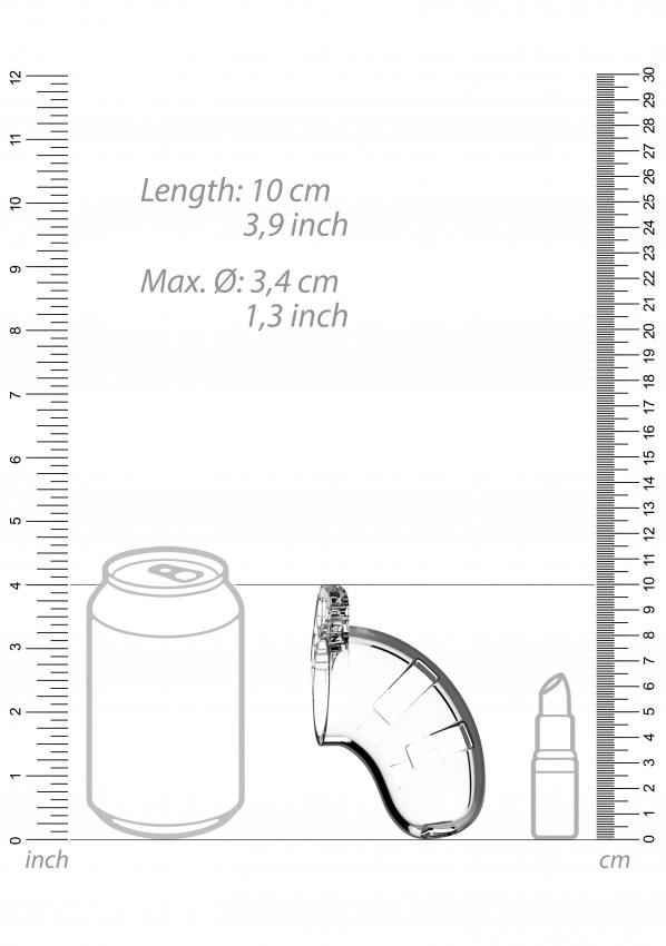 Model 15 - 8,9 cm - Peniskooi met silicone sound