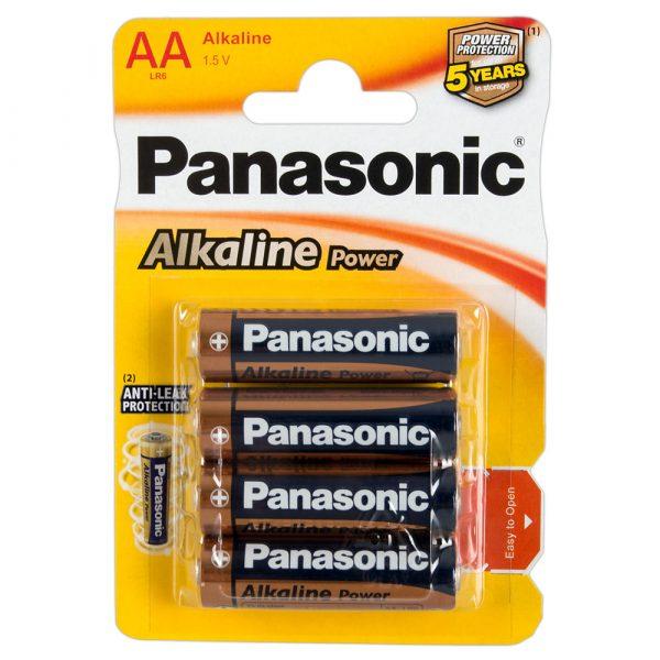 Panasonic 4x AA-batterij