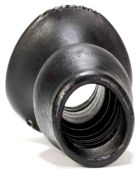 Pighole-4 XL Holle buttplug Zwart