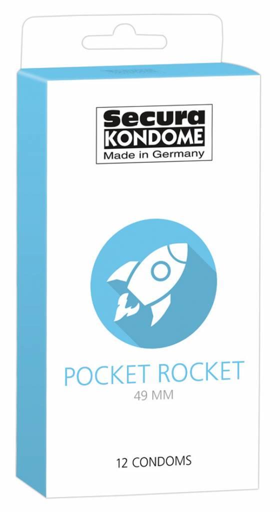 Secura Kondome - Pocket Rocket 49 mm