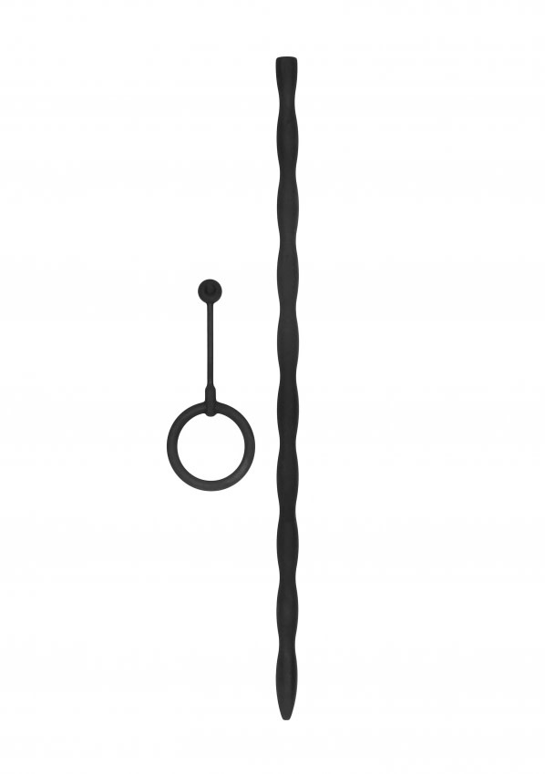 Siliconen Penisplug met eikelring