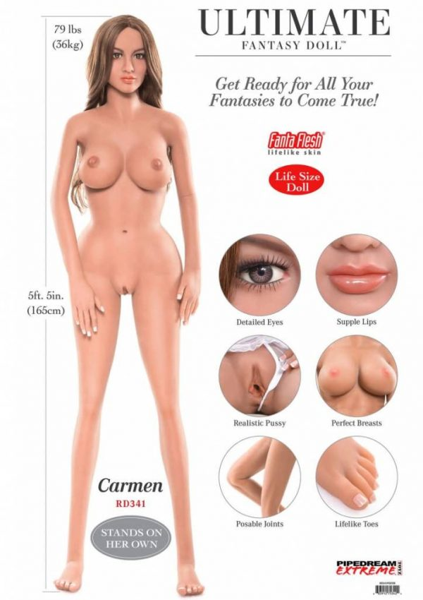 Ultimate Fantasy Dolls Carmen 1.65m