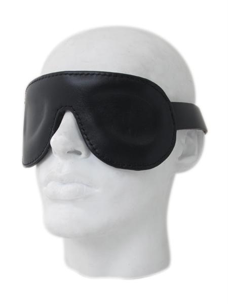 Premium Lederen oogmasker - verstelbaar