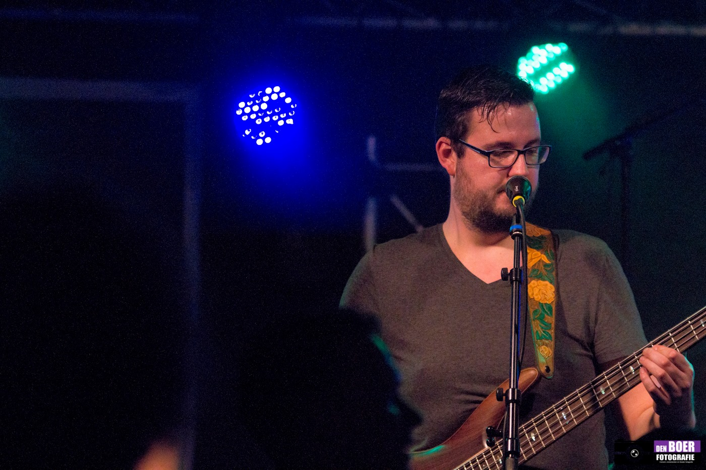 Mark Muller, ondernemer Euphoria, Bassist
