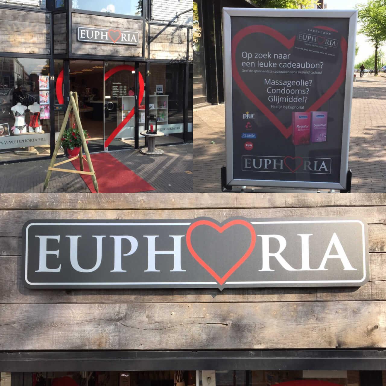 Euphoria Heerenveen 2016 - toen nog aan de Lingracht 41. (Nu 43)