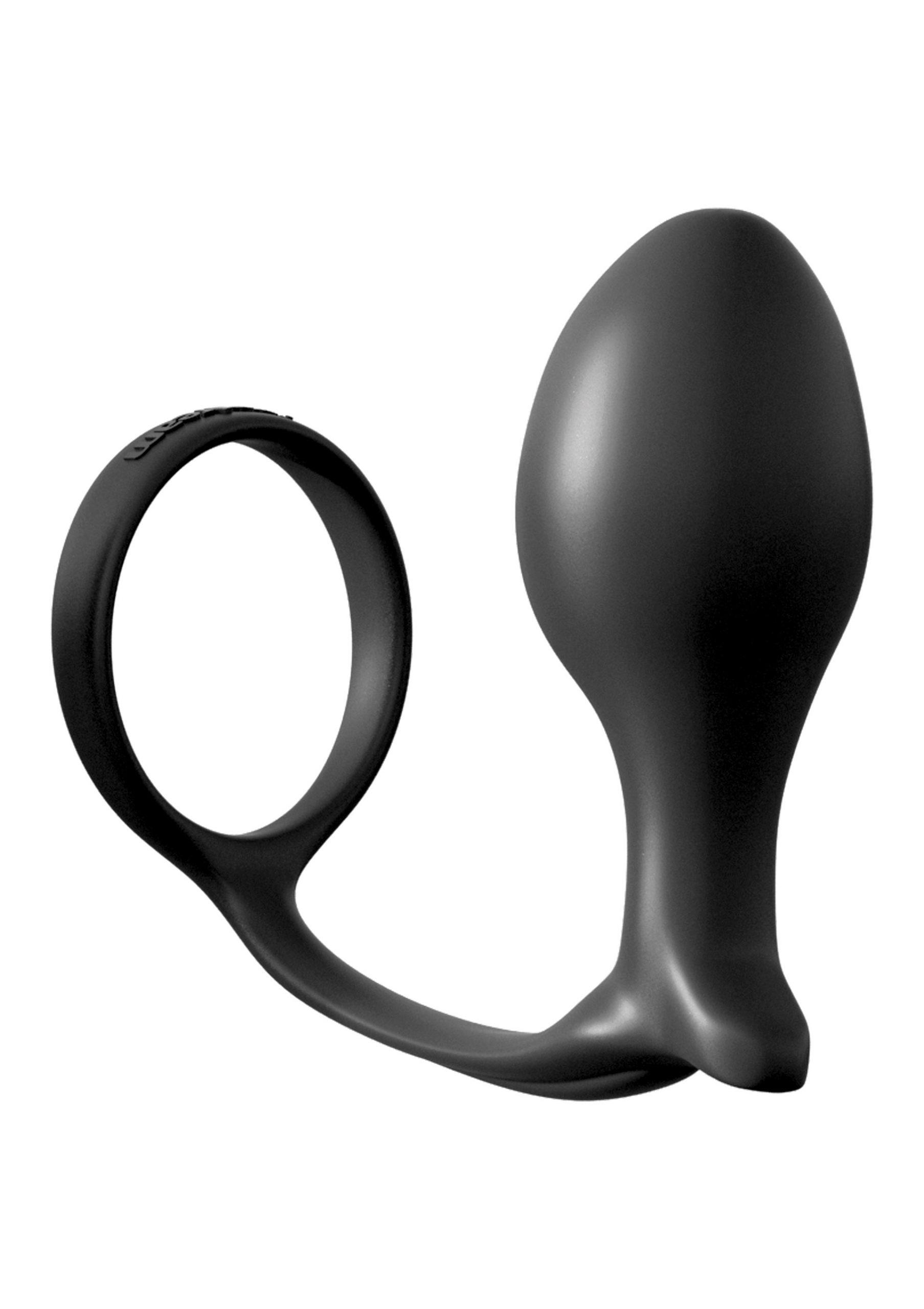 Image of Ass Gasm Cockring met Advanced Plug Large